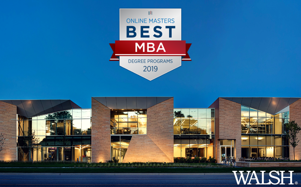 Walsh Online MBA